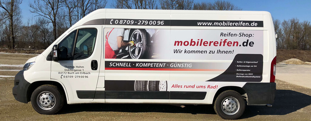 Mobilereifen Thomas Hohm Werkstattwagen